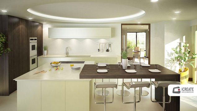 3D Kitchen Visualisation