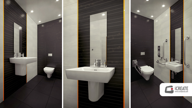 3D Bathroom Visualisation